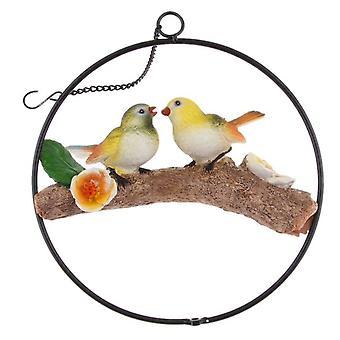 الحلي محاكاة الطيور الحلي الراتنج الحرف الديكور 2
