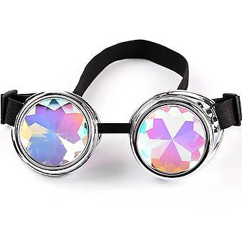 Lunettes rétro punk lunettes coupe-vent Cosplay Lunettes vêtements assortis à la rue