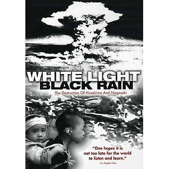 Vita ljus svart regn: Förstörelse Fo Hiroshi [DVD] USA import