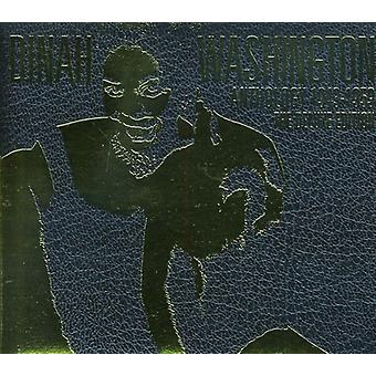 Dinah Washington - Estados Unidos de 1943-59 [CD] antología de importación