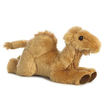 Aurora Welt Kamel Mini Flopsies Plüschtier (Caramel/braun)
