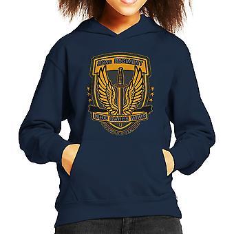 22nd Regiment Insignia COD 4 Modern Warfare Kid's Hooded Sweatshirt