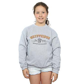 Harry Potter Mädchen Gryffindor Team Quidditch Sweatshirt