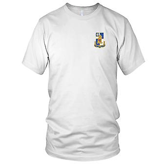 US Army - 122nd Infantry Regiment Embroidered Patch - Mens T Shirt