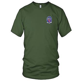US Navy VA-46 Angriff Geschwader gestickt Patch - Herren-T-Shirt