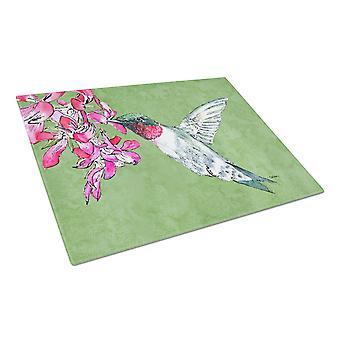 Carolines Treasures  8886LCB Hummingbird Glass Cutting Board