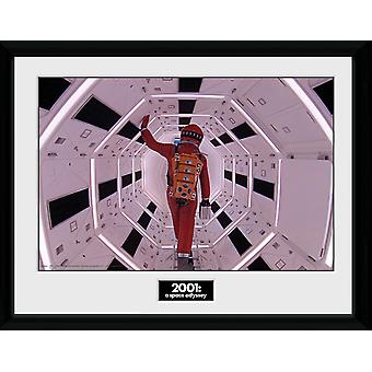 2001 en Space Odyssey Astronaut inramade Collector Print 40x30cm