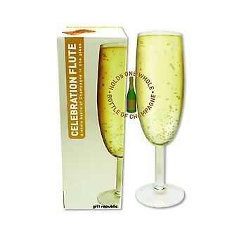 XL Prosecco sparkling wine glass glass big 750 ml prank