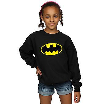 DC Comics niñas Batman Logo sudadera