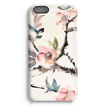 iPhone 6 Plus Full Print Fall (glänzend) - Japenese Blumen