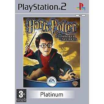 Harry Potter och hemligheternas kammare Platinum (PS2)-ny