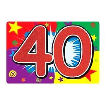 40 Glittered Connexion