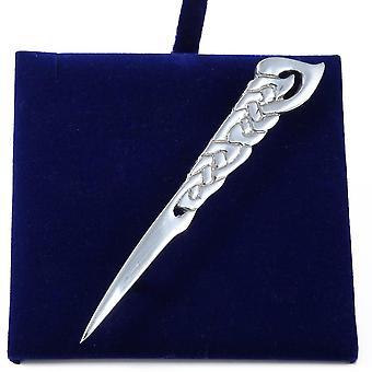 Celtic Knot Pewter Kilt Pin