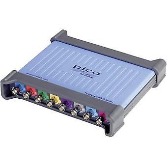 Osciloscop USB Pico PP916 20 MHz 16-Channel 40 MSa/s 32 MP 12 bit stocare digitală (DSO), generator de funcții, analizor de spectru, semnal mixt (MSO)