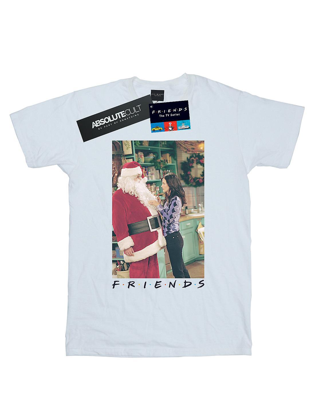 Friends Girls Chandler Claus T-Shirt
