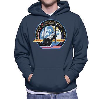 Roscosmos TMA 06M Sojus-Raumschiff Mission Patch Herren Sweatshirt mit Kapuze