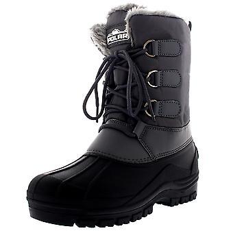 Muck Mens rendas até pato curtas caminhadas caminhar peles artificiais térmica neve botas UK 6-14