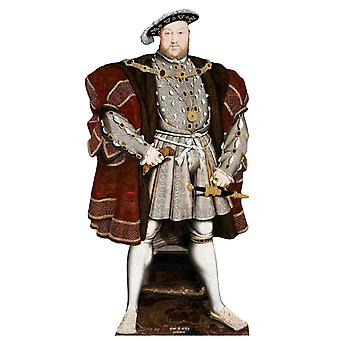 König Heinrich VIII. der Tudor King Lifesize Karton Ausschnitt / Standee / Standup