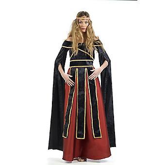 Mesdames inaugural de château médiéval costume Dame d'honneur Costume Lady Lady Hofherrin