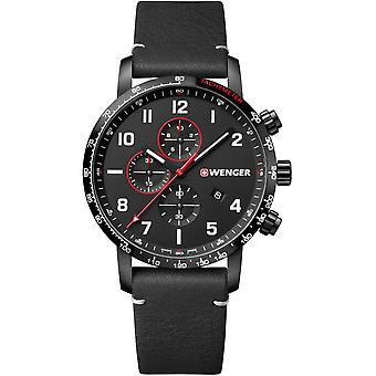 Wenger mens watch attitude Chrono 01.1543.106