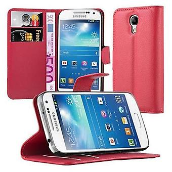 Case for Samsung Galaxy S4 MINI Foldable Phone Case - Cover - with Stand Function and Card Tray