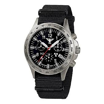KHS zegarki męskie zegarek plutonu tytanu chronograf KHS. PTC.NB