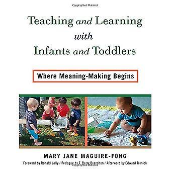 Onderwijzen en leren met baby's en peuters: waar begint zin te maken