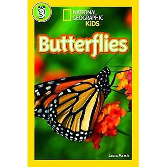 Papillons (niveau3) (National Geographic Kids lecteurs (niveau 3))
