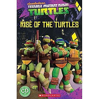 Teenage Mutant Ninja Turtles: Rise of the Turtles (Popcorn Readers)