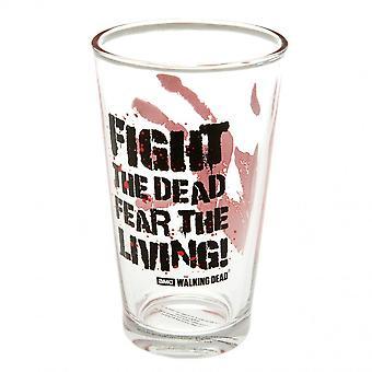 The Walking Dead Fear The Dead Large Glass