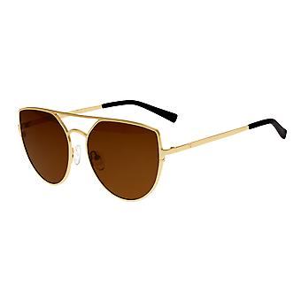 Sixty One Boar Polarized Sunglasses - Gold/Brown