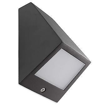 Angle Urban grå stor LED utomhus vägg ljus - lysdioder-C4 05-9837-Z5-CL