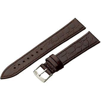 Morellato A01U1563821034CR18 BIRMINGHAM, silver bracelet for ladies ', color: Brown, 18 mm