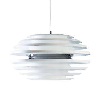 Belid - Ellipse LED Anhänger leichten weißen Finish 108262