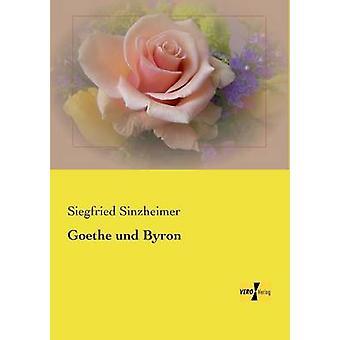 Goethe und Byron par Sinzheimer et Siegfried