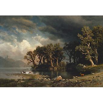 The Coming Storm, Albert Bierstadt, 60x42cm