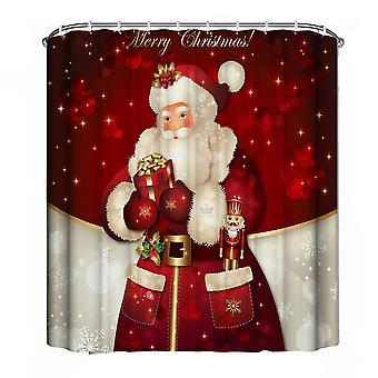 Duschdraperi - Santa Claus