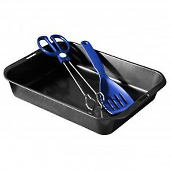 Roast - grote niet-Stick Oven roosteren schotel / Pan met Tang en spatel