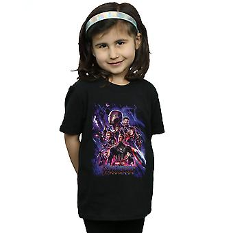 Marvel Girls Avengers Endgame Movie plakat T-shirt