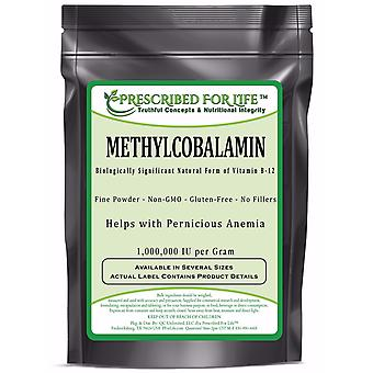 MethylCobalamin-naturligt vitamin B-12 Pure Powder (1 000 000 IE per gram)