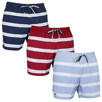 Lacoste mens klassiska tryckta Serge simma shorts