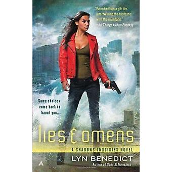Lies & Omens by Lyn Benedict - 9781937007508 Book