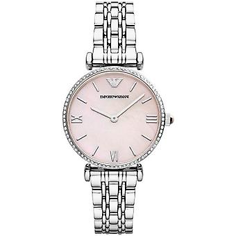 Emporio Armani Ar1779 Ladies Gianni T-bar Watch
