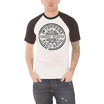 חולצת הביטלס T סמל פלפל בודד לבבות תוף תופים הרשמי תחתוני גברים חדש ראגלאן