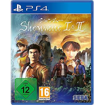 Shenmue I & II HD Remaster PS4 Game (German Box)