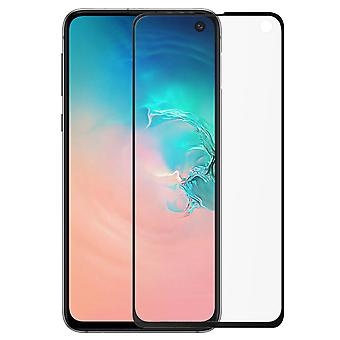 Muvit Tempered Glass Screen Protector Film Galaxy S10e S Beveled Contours Black