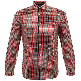 Fred Perry Men's Ogilvy Tartan Long Sleeve Shirt - M8285-943