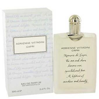 Capri Adrienne Vittadini Eau De Parfüm Sprey 3.4 Oz (kadın) V728-415789
