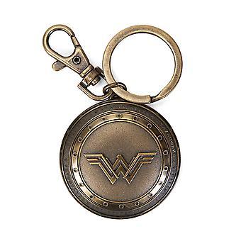 Key Chain - DC Comics - Pewter Wonder Woman Shield 45502