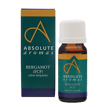 Absolute Aromas, Bergamot Fcf Oil, 10ml